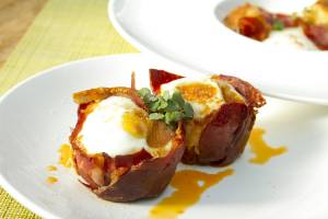 Brunch Baked Eggs In Prosciutto